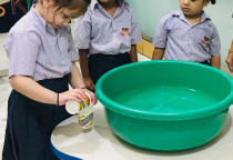 NURSERY - MATH CONCEPT - LESS AND MORE (POURING ACTIVITY)